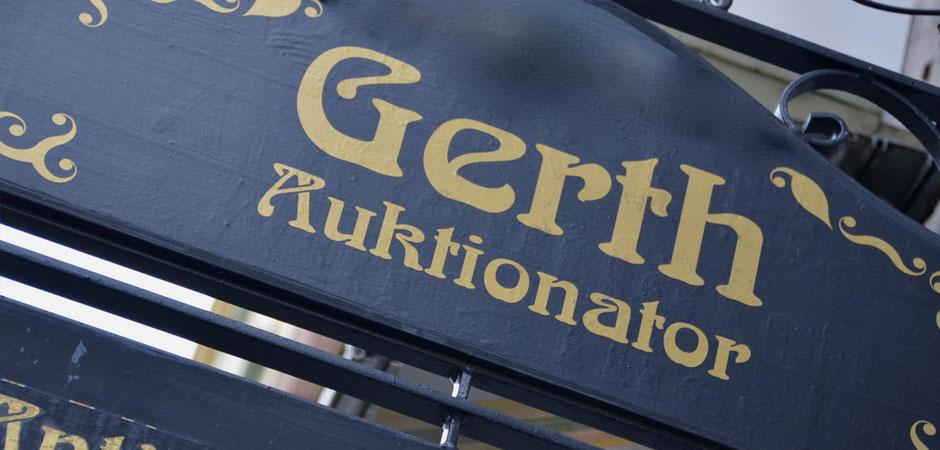 Gerth Auktionator Antiquitäten Goldankauf